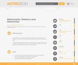 Meteoroids, Meteors and Meteorites