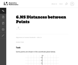 6.NS Distances between Points