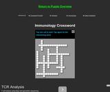 Immunology Crossword Puzzle