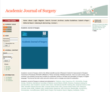 Academic Journal of Surgery