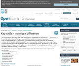 Key Skills - Making a Difference