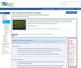 The Ecology of Climate Change