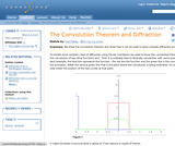 The Convolution Theorem and Diffraction