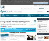 Living With the Internet: Learning Online