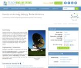 Wimpy Radar Antenna