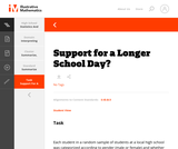 Support for a Longer School Day?