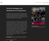 Political Ideologies and Worldviews: An Introduction