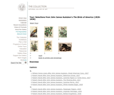 Selections from Audubon's The Birds of America (1827-1838)