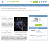 Complex Networks and Graphs