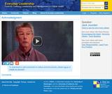 Acknowledgment | Everyday Leadership