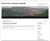 abcLeb Lebanese Language