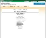 Arithmetic Quiz