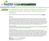 Investigating Water Quality Through Quantative and Qualitative Analysis of Benthic Macroinvertebrate Sampling
