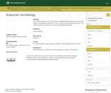 Eukaryotic microbiology
