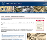 Failed European Colonies in the New World