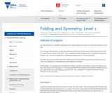Folding and Symmetry: 1.5