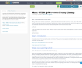Moon - STEM @ Worcester County Library