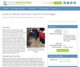 Decimals, Fractions & Percentages