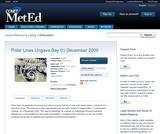 Polar Lows Ungava Bay 01 December 2000