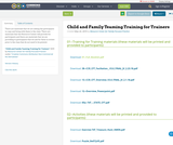Child and Family Teaming Training for Trainers