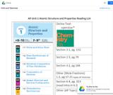 OpenStax Chemistry 2e AP Topic Alignment