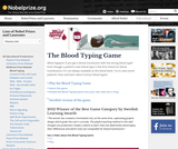 Medicine Games: Blood Typing
