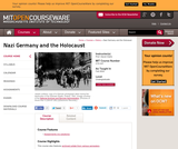 Nazi Germany and the Holocaust, Fall 2004