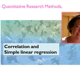 Correlation and simple linear regression (09:54)