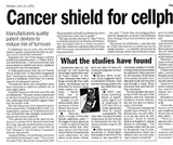 Are cell phones safe or cancer causing?