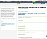 BlendEd Learning Best Practices - En Mi Familia
