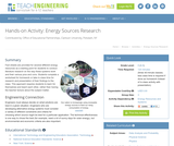 Energy Sources Research