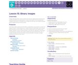 CS Fundamentals 4.15: Binary Images