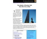 The Battle of Bunker Hill: Now We Are at War