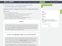 Building a Model of Aggregate Demand and Aggregate Supply
