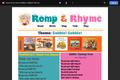 Romp & Rhyme Storytime Parent Activity Sheet: Gobble, Gobble!