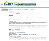 Exploring States of Matter - Gases