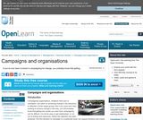 Campaigns and Organisations