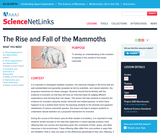 The Rise and Fall of the Mammoths