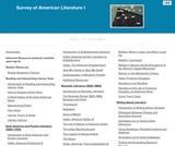 American Literature I