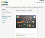 Kitchen Humanities: Bruschetta