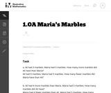 Maria's Money