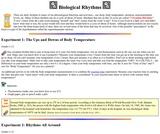 Neuroscience for Kids: Biological Rhythms