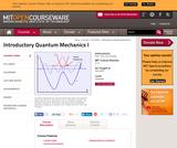 Introductory Quantum Mechanics I, Fall 2005