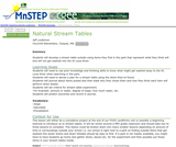 Natural Stream Tables