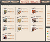 Wisconsin Biographies Teacher Resources