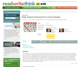 Bingo! Using Environmental Print to Practice Reading