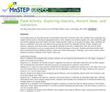 Field Activity:  Exploring Glaciers, Ancient Seas, and Volcanism