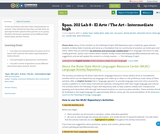 El Arte / The Art - Spanish Intermediate high