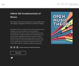 CMUS 120 Fundamentals of Music
