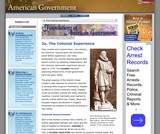 2a. The Colonial Experience